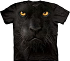 T - Shirt Panthergesicht