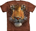 T - Shirt Tigergesicht