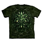T-Shirt Green Face