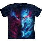 T-Shirt Coloured Wolf