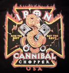 T-Shirt Cannibal Choppers