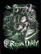 T - Shirt Rydin Dirty