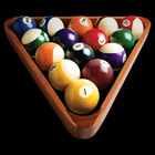 3 D - T - Shirt Billiard