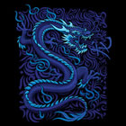 Damen-Shirt Kurzarm Blue Dragon 2 - 8 XL