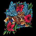 T - Shirt Tiger Tattoo
